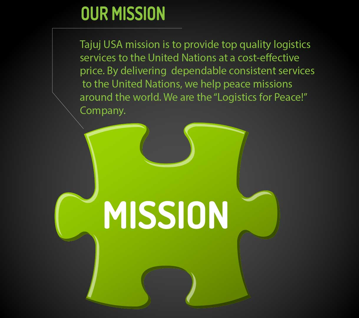 Our Mission mobile